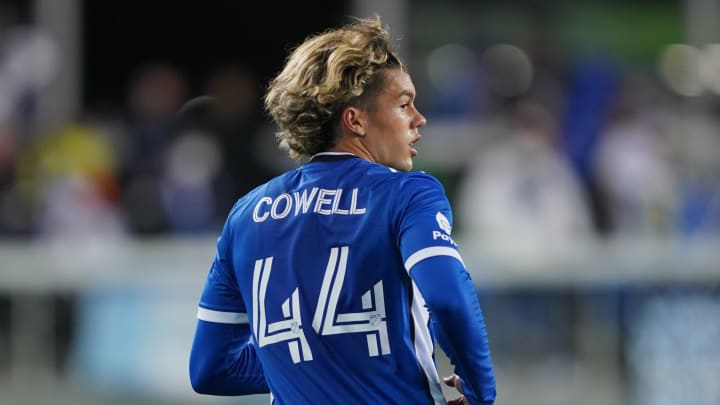 17-year-old Cowell has four goals and four assists so far this season but isn't satisfied yet.