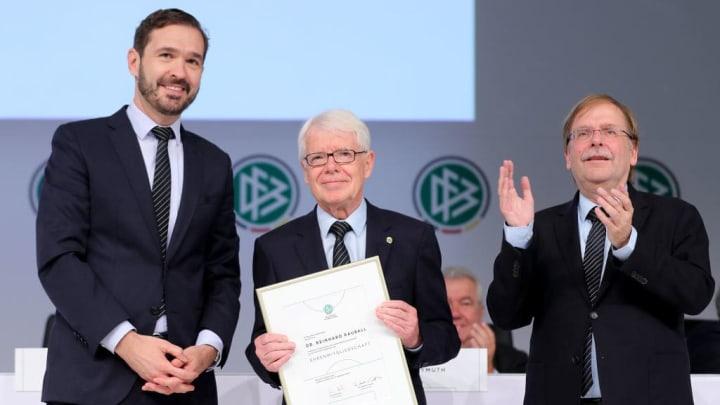 Rainer Koch, Reinhard Rauball, Friedrich Curtius