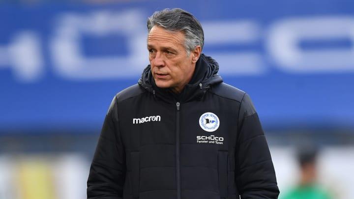 Uwe Neuhaus wurde bei Arminia Bielefeld gefeuert
