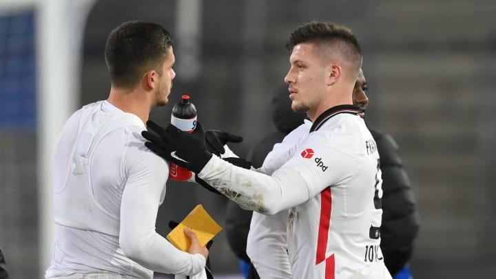 André Silva und Luka Jovic sind brandgefährlich