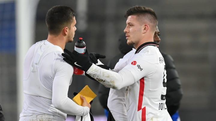 Bahnt sich ein spektakulärer Tauschdeal um André Silva und Luka Jovic an?