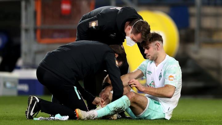 Niclas Füllkrug wird den Bremern im Pokal-Viertelfinale fehlen