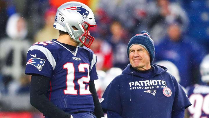 Tom Brady and Bill Belichick