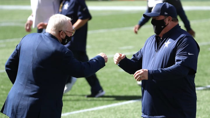 Jerry Jones and Mike McCarthy.