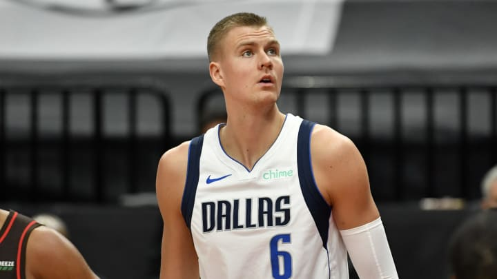 Kristaps Porzingis could be on the move this offseason.
