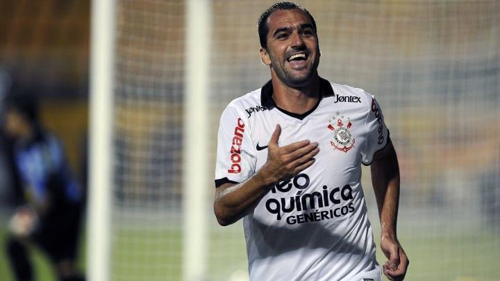 Danilo of Brazil's Corinthians celebrate