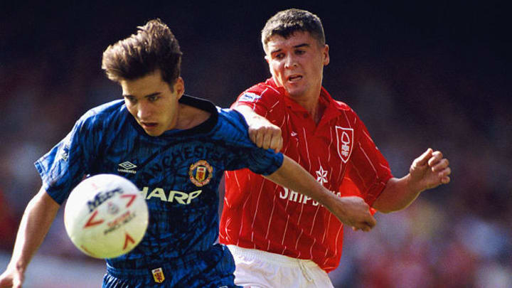 Darren Ferguson, Roy Keane