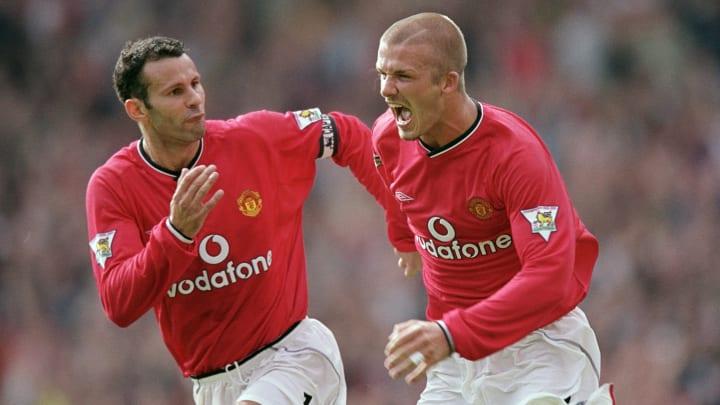 Ryan Giggs & David Beckham often scored for Man Utd