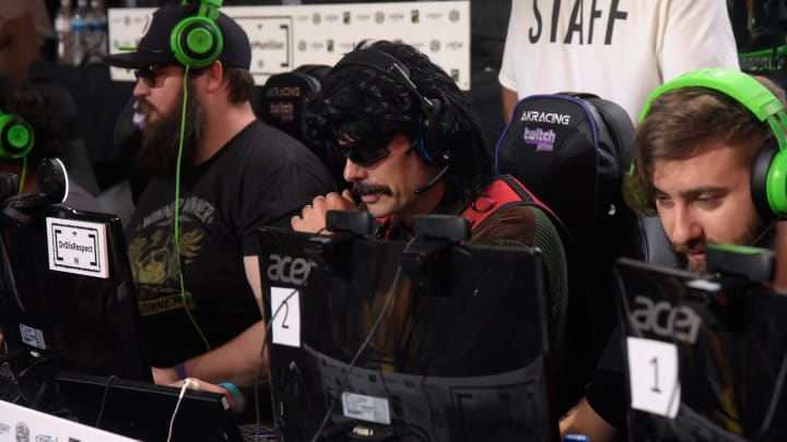 Dr Disrespect says he is suing Twitch for banning him.