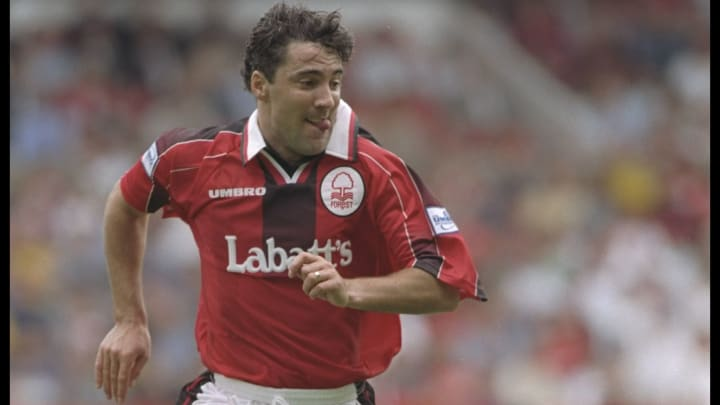 Dean Saunders of Nottingham Forest