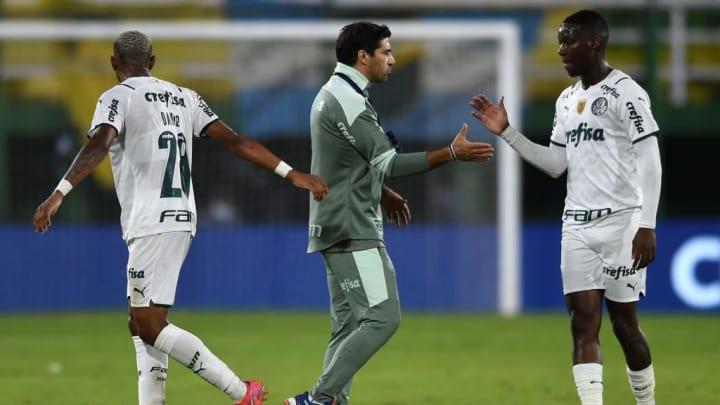 Abel Ferreira Patrick De Paula Palmeiras Libertadores Recopa