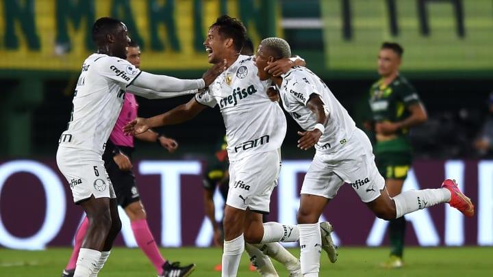 Palmeiras conquistou vitória importantíssima na Argentina