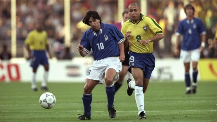 Demetrio Albertini and Ronaldo