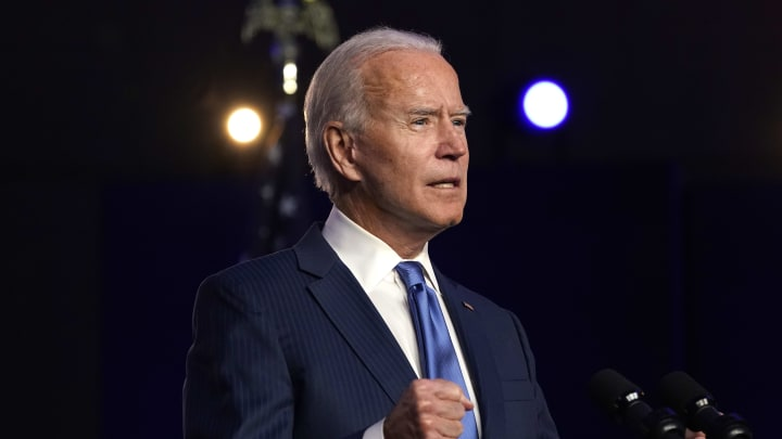 Democratic Presidential Nominee Joe Biden Addresses The Nation As Election Count Continues In Few