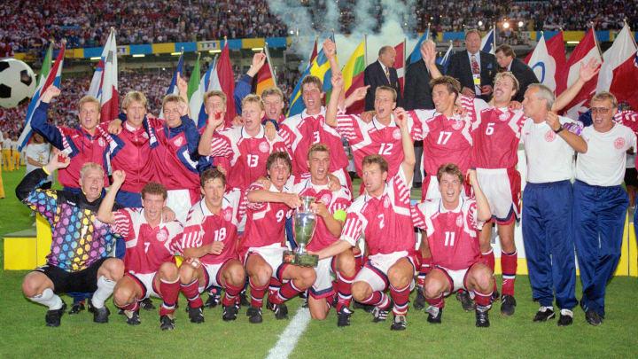 La Danimarca festeggia la vittoria di Euro '92