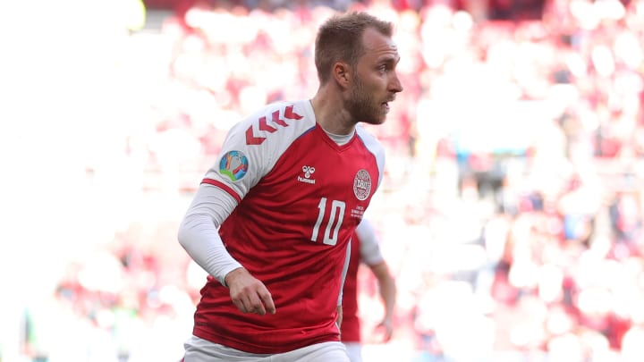 Eriksen is recovering in hospital