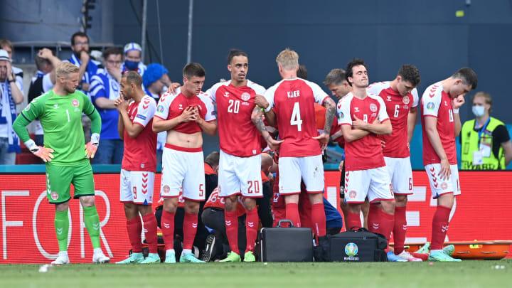 Les joueurs danois ont été exemplaires et solidaires envers leur capitaine Eriksen