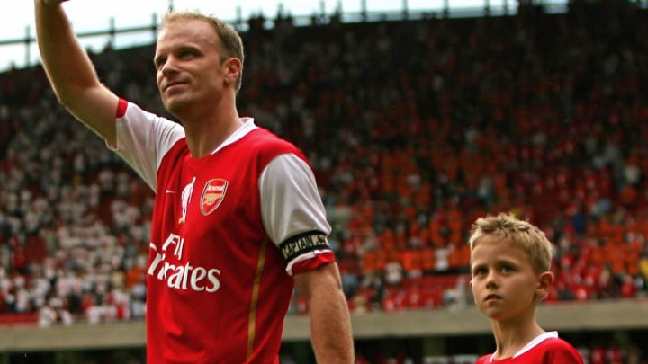 Mitchel Bergkamp with his father, Dennis