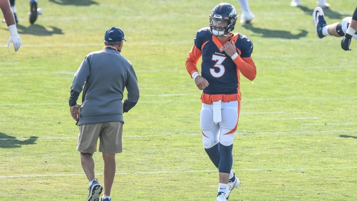 Denver Broncos head coach Vic Fangio has made it clear on what needs to happen for Drew Lock's starer role to be solidified.