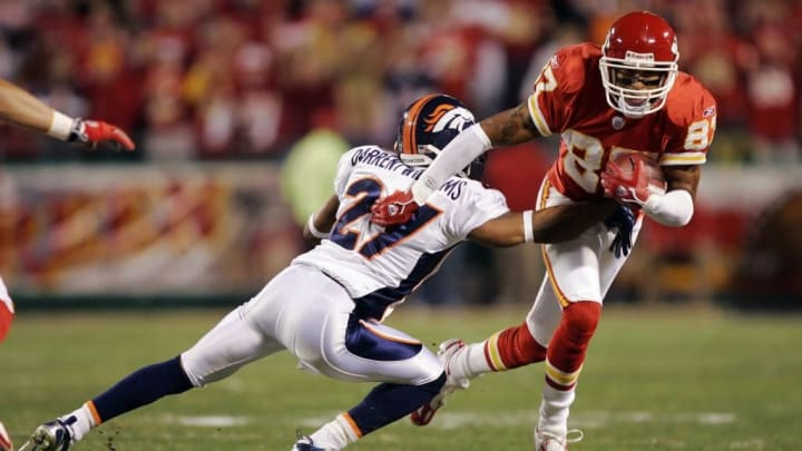 Eddie Kennison made more of a name for himself during the back end of his career, with the Chiefs.