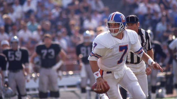 Elway earned his lone NFL MVP award in 1987.