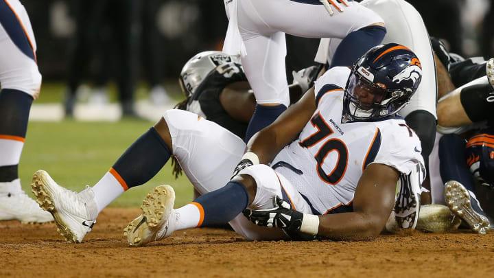 Broncos dejaron en libertad a Ja'Wuan James