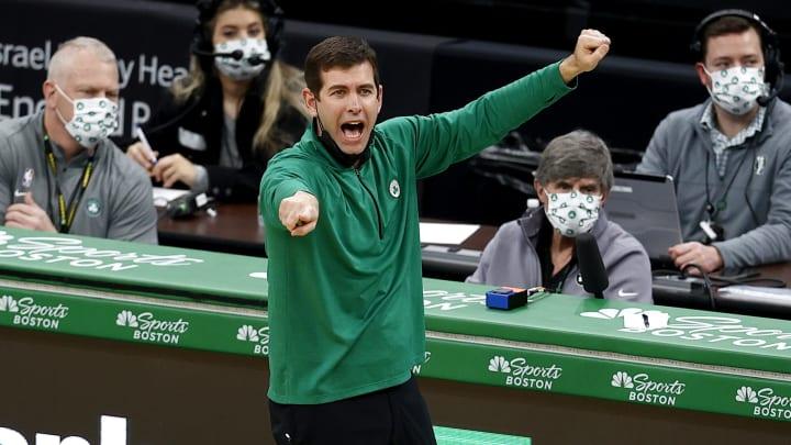 Brad Stevens, Denver Nuggets v Boston Celtics