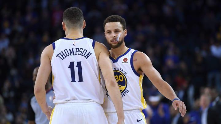 Curry y Thompson no pudieron apoyar a los Warriors durante la temporada debido a lesiones