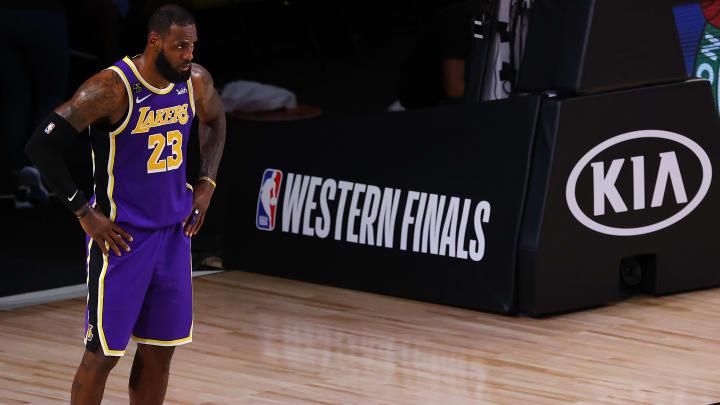 LeBron James, Denver Nuggets v Los Angeles Lakers - Game Five
