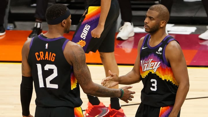 Chris Paul, right, has the Suns in position for an NBA Finals run.