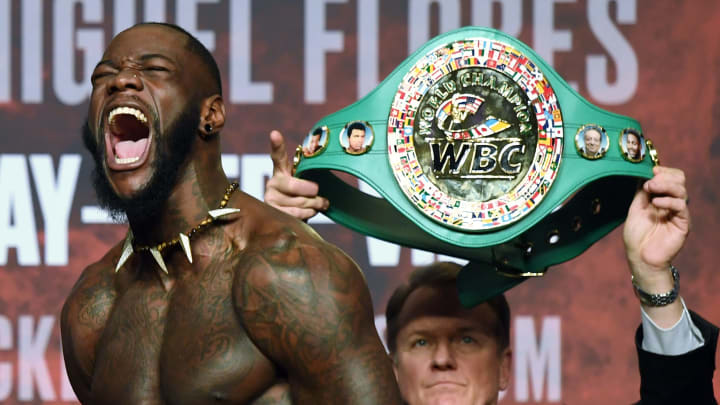 One of the hardest punchers in boxing history? WBC heavyweight champion Deontay Wilder.