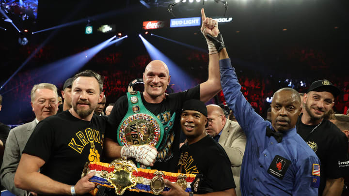 Tyson Fury n'a pas encore terminé la trilogie avec Deontay Wilder, qu'il a vaincu en février 2020.