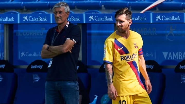 The pressure has mounted on Quique Setien after Barcelona lost out on the La Liga title to Real Madrid for the first time since 2017