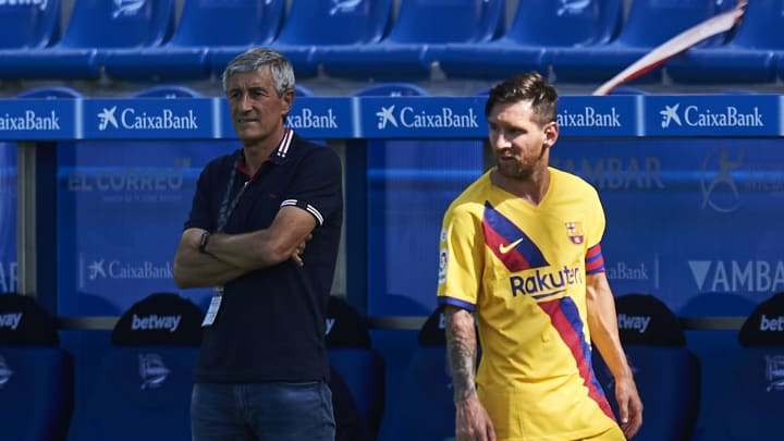 Quique Setien, Lionel Messi