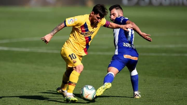 Lionel Messi, Luis Rioja