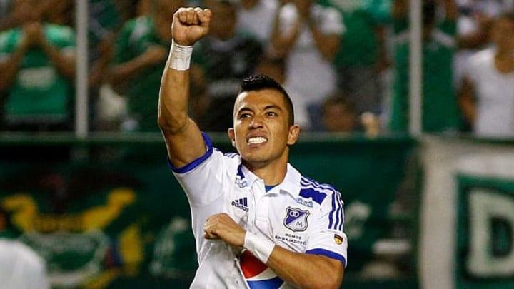 Como el líder goleador de Millonarios, Fernando Uribe anotó 11 goles y terminó colíder de la tabla de goleadores en 2021-1