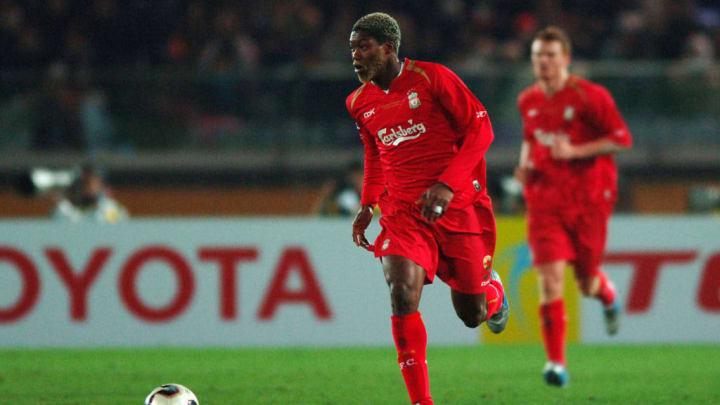 Djibril Cissé à Liverpool a laissé une très bonne image