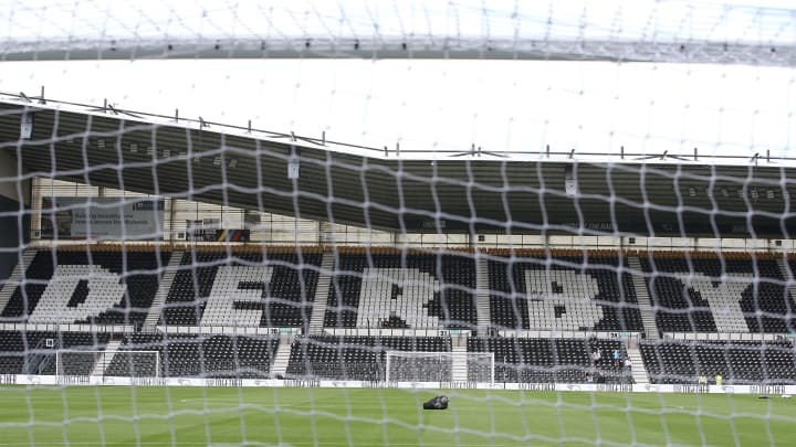 Derby have been punished for entering administration