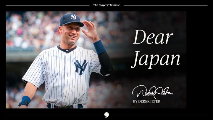 Dear Japan | By Derek Jeter