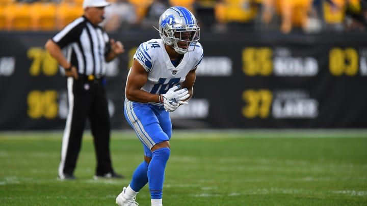Tyrell Williams' injury update boosts the fantasy outlook of wide receiver Amon-Ra St. Brown.