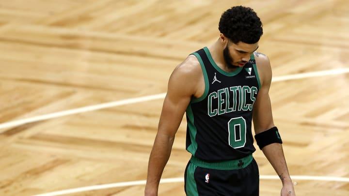 Jayson Tatum, Detroit Pistons v Boston Celtics