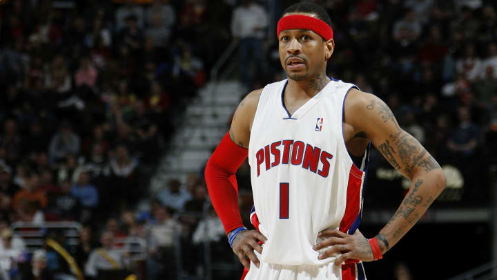 Hall of Fame guard Allen Iverson on the Detroit Pistons