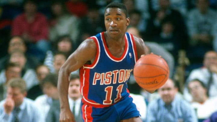 Detroit Pistons legend Isiah Thomas