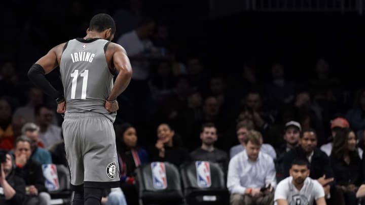 Brooklyn Nets star Kyrie Irving is out for the season.