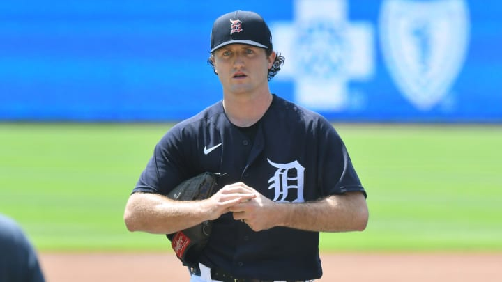 Casey Mize, Detroit Tigers Summer Workouts