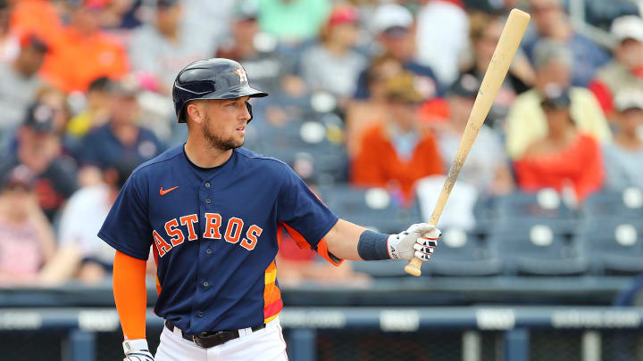 Houston Astros third baseman Alex Bregman