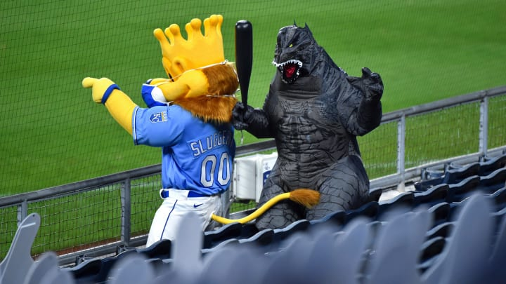 Godzilla is ready for Opening Day.