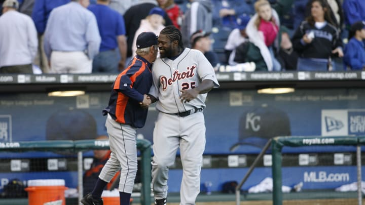 Dmitri Young spent several years with the Detroit Tigers.