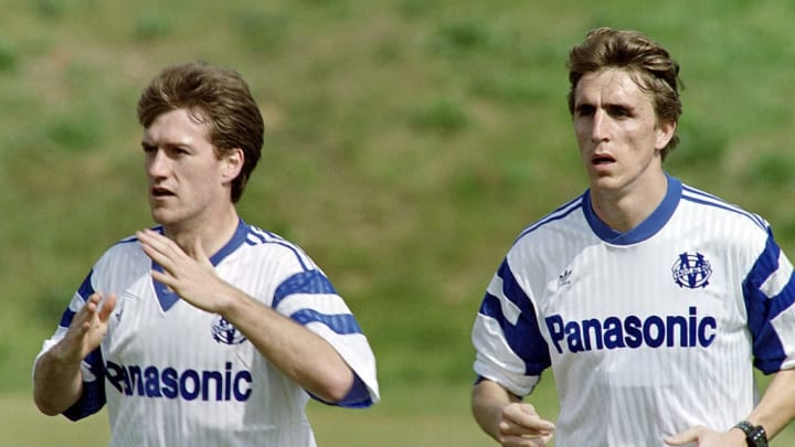 Didier Deschamps (L) and Alen Boksic (R)