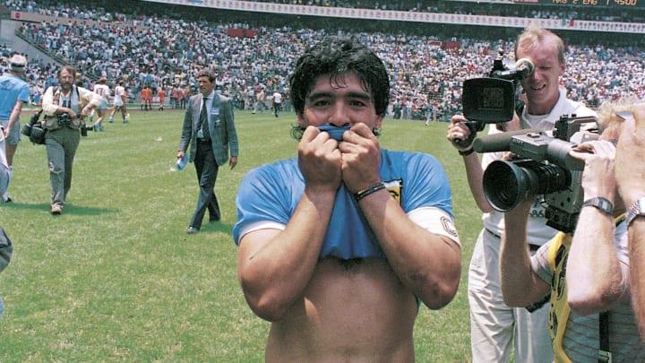 Diego Maradona has an entire religion dedicated to him